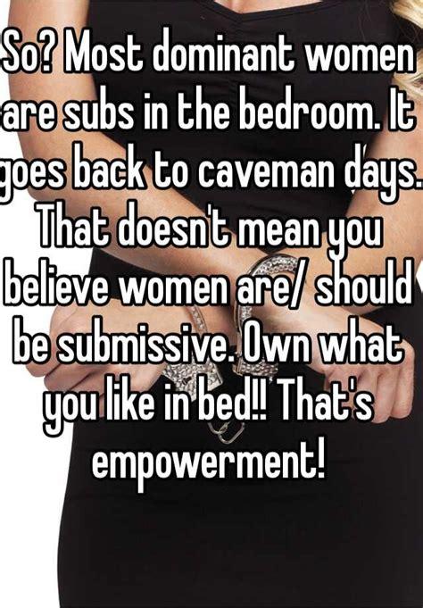 dominant women  subs   bedroom