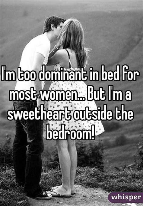 im  dominant  bed   women  im