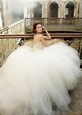 Lazaro Ball Gown Wedding Dress