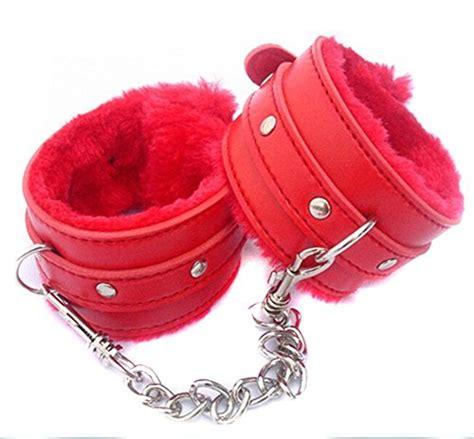 handcuffs acome bondage wrist cuffs comfortable soft sex restraints  couples bedroom play