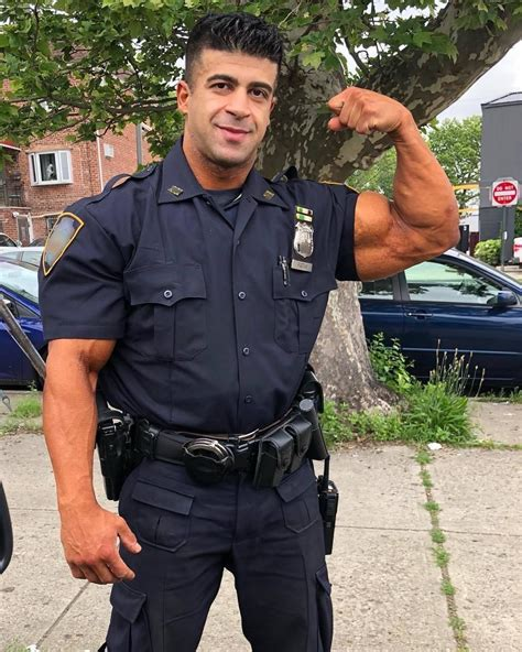 Galerry beefy cop Page 2
