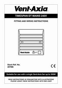 Timespan Dt Mains 240v Fitting And Wiring Instructions