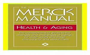 The Merck Manual Of Health  U0026 Aging  The Comprehensive