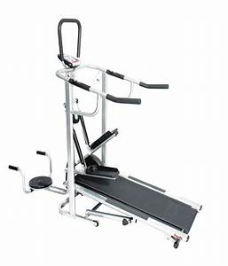 Health Line Manual Treadmill  Buy Online At Best Price On