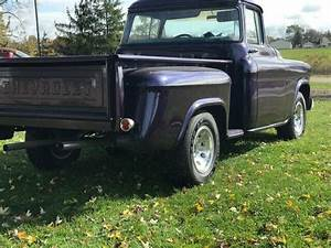 1955 Chevrolet Pickup Truck Big Back Window Hot Rod