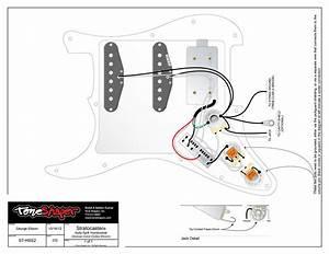 Toneshaper Wiring Kit  Stratocaster  Hss2  Auto