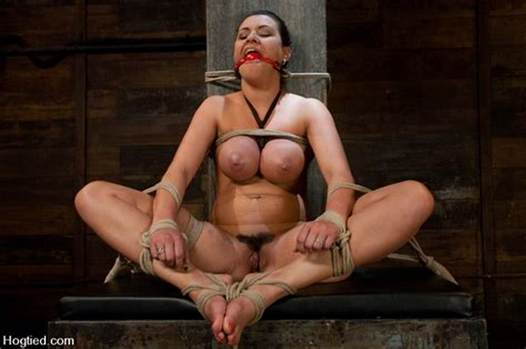 #Big #Titted #Charley #Chase #Is #Rope