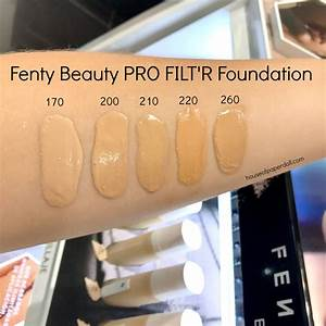 Fenty Beauty Review And Swatches House Of Paper Doll