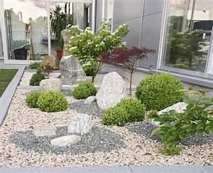 Gartengestaltung Mit Rindenmulch Und Steinen : gartengestaltung mit kies und steinen modern garten steine kies garten suite garten und bauen ~ Bigdaddyawards.com Haus und Dekorationen