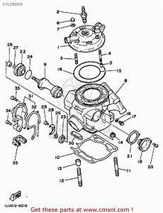 Yamaha Yz250 1986  G  Usa Cylinder