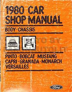 1980 Ford Pinto And Mercury Bobcat Foldout Wiring Diagrams