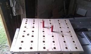 Pegboard Selber Bauen : viele gro e l cher in doppelte osb platte werkzeug ~ Watch28wear.com Haus und Dekorationen