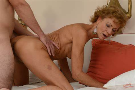 Classy Granny Pounding And She Has A Little Cumshot