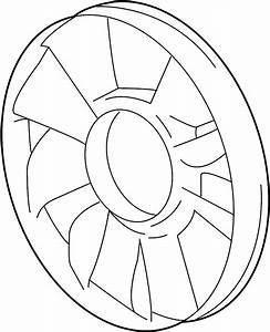 Buick Rainier Engine Cooling Fan Clutch Blade  S