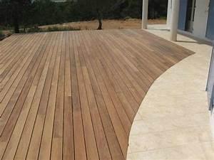 Terrasse Bois Exotique : terrasse piscine en bois exotique ~ Melissatoandfro.com Idées de Décoration