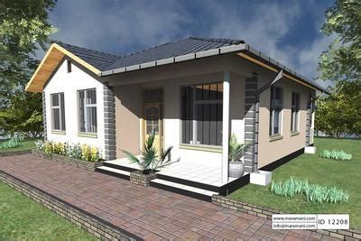 2 Bedrooms House Plan ID 12208 House Plans by Maramani