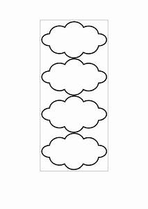 Cloud Shaped Tag Template Printable Pdf Download