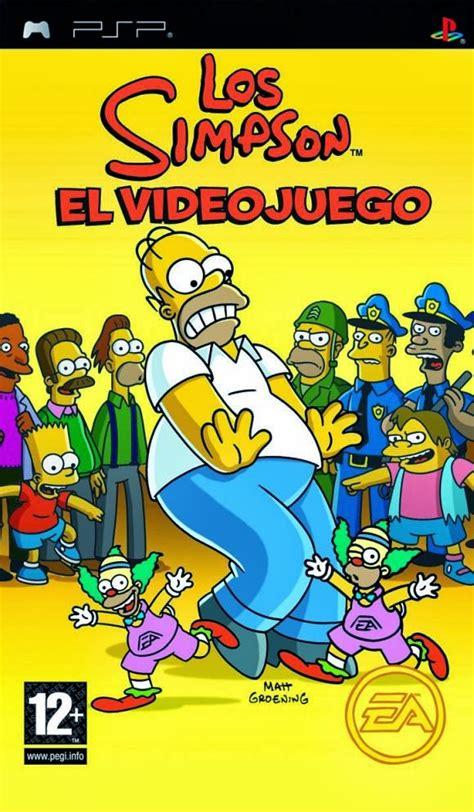 Tenemos todos los juegos para psp. Los Simpson: El Video Juego pspmulti5espanol[iso ...