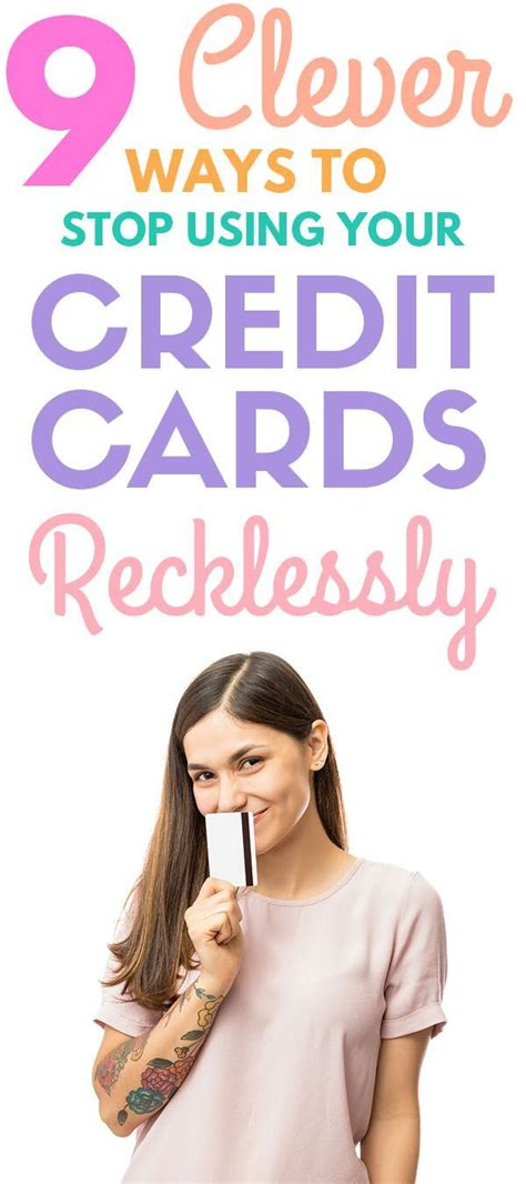 No single credit card is the best option for every family, every purchase or every budget. 9 Ways To Stop Using Your Credit Cards Recklessly | Money management, Best money saving tips ...