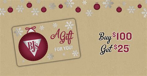 If there's a specific restaurant chain's gift card you're looking for, you can do a search on the site for that. BJ's Restaurant- GiftCard Promotion December 2018