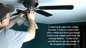 Hampton Bay Ceiling Fan Remove Wattage Limiter