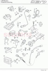 Aston Martin Db7  1995  Components And Wiring 6 Parts