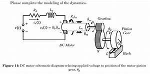 Solved  1  Draw The Circuit Diagram For The Dc Motor In Fi