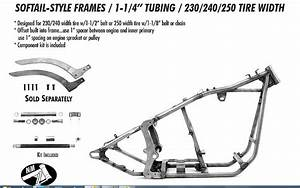 Softail Harley Frame 230  240  250 Rear    1 25 Tubing