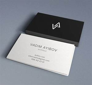 33 slick business card designs for architects business for Architectural business card design