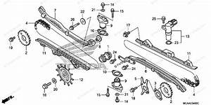 Honda Motorcycle 2006 Oem Parts Diagram For Cam Chain