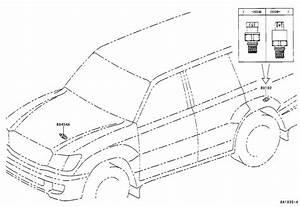 Lexus Lx 470 Sensor  Pressure Accumulator  Electrical  Suspension  Control  Active