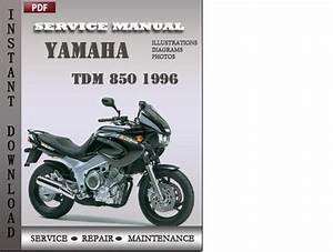 Yamaha Tdm 850 1996 Service Repair Manual Download