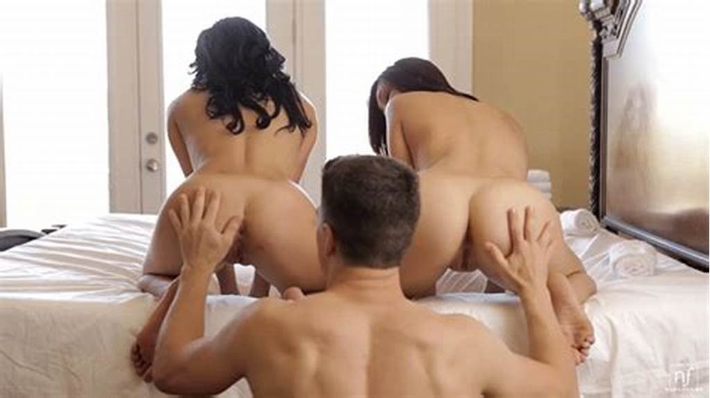 #A #Rearpussy #Aficionado #Fulfills #His #Dream #With #Two