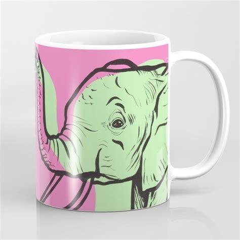 Funny elephant mug elephants are awesome mug cool elephant gift idea elephant. Pastel Elephant Coffee Mug by turddemon | Society6