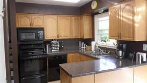 kitchen wall colors with oak cabinets awesome house With kitchen colors with white cabinets with wall art vinyl