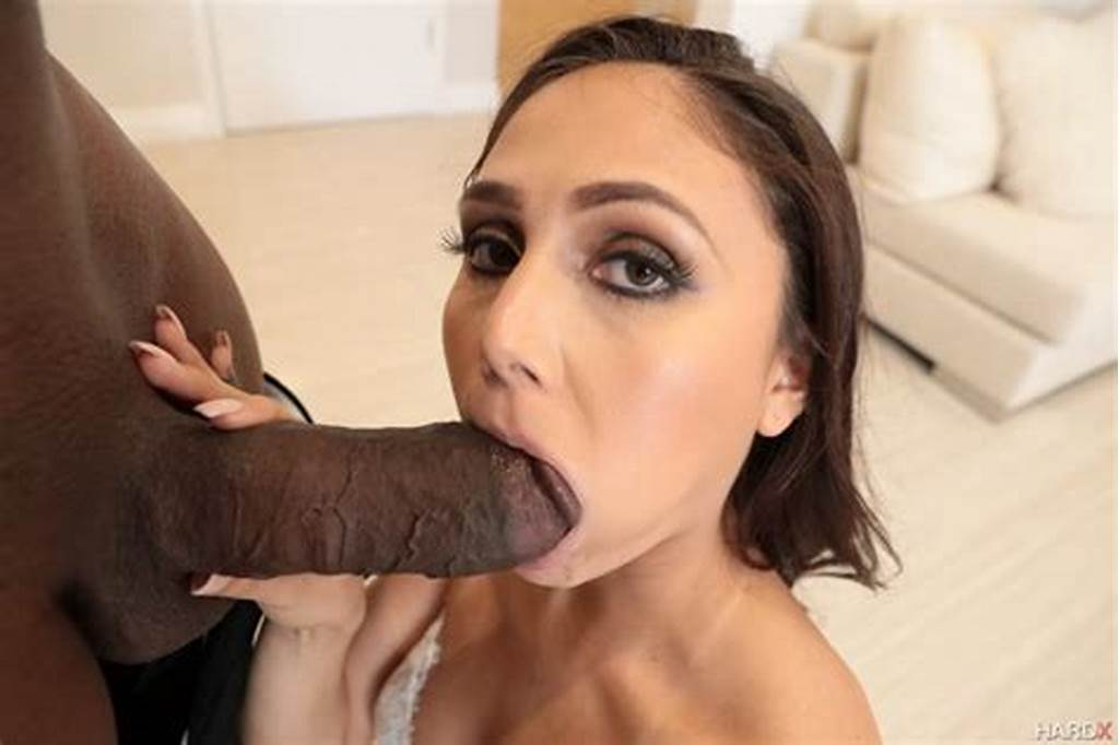 #Ariana #Marie #Gorgeous #Brunette #First #Interracial #Anal