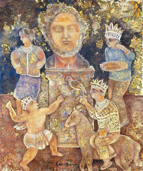 The Art of Sakti Burman   A Private Universe