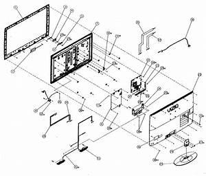 Vizio M370nv Lcd Television Parts
