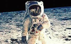Fake News - First Woman On The Moon ~ Funny Joke Pictures