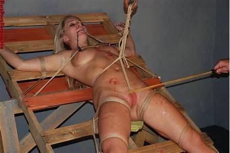 Paddling Teen Nude