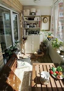 Kleiner Balkon Einrichten : 30 coole ideen einen kleinen balkon gem tlich zu machen ~ Orissabook.com Haus und Dekorationen