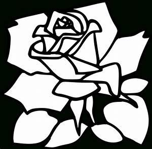 Rose Drawing Clip Art At Getdrawings
