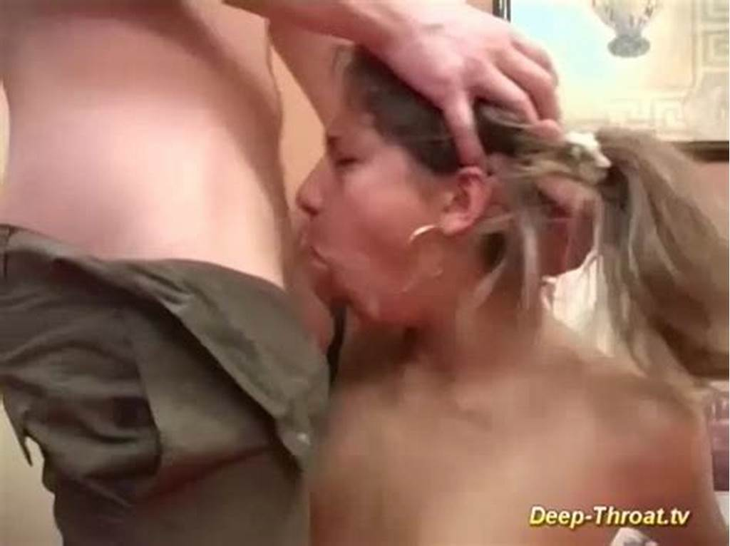 #Not #Bad #For #Her #First #Deepthroat