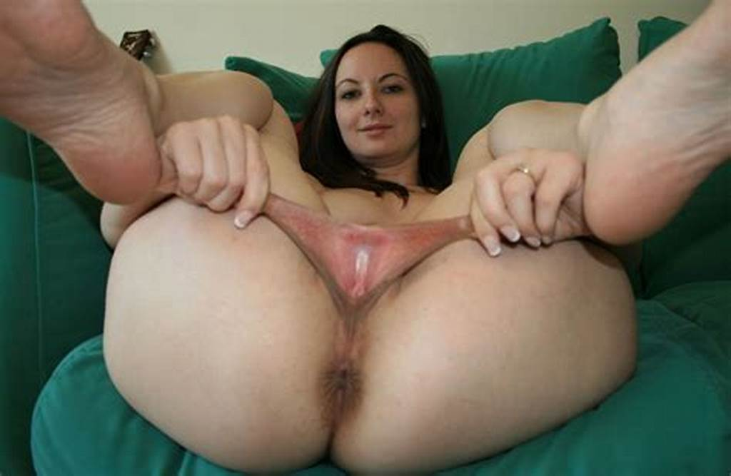 #Brunette #With #Really #Big #Pussy #Lips