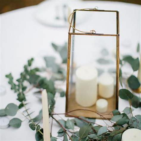 Gold Square Lanterns Wedding Wedding flowers Wedding