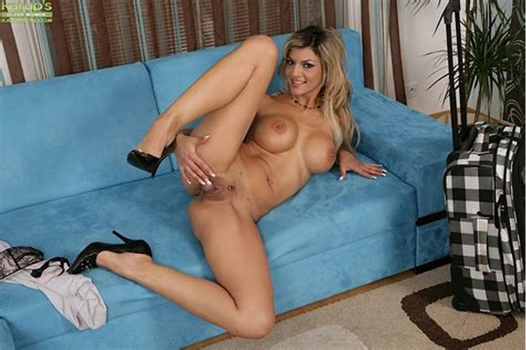 #Long #Legged #Slim #Milf #Klarisa #Leone #With #Round #Boobs #Exposes #Her #Pierced #Pussy