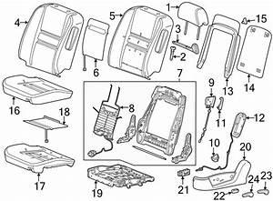Chevrolet Monte Carlo Seat Frame