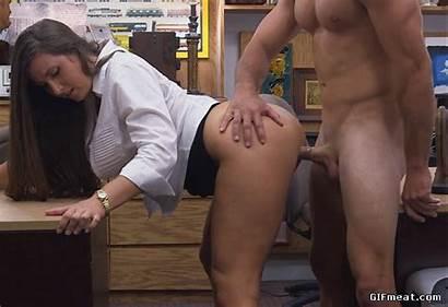 Milf Busty Fucked Behind Pornstar Lee Madisin
