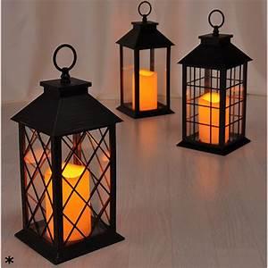 Laterne Kerze Draußen : laterne led kerze tischlaterne windlicht aussen dekoration ~ Watch28wear.com Haus und Dekorationen
