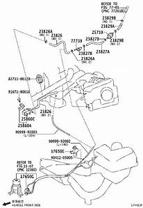 Toyota Avalon Clip  For Fuel Vapor Feed Hose  For Fuel